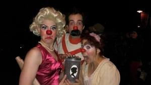 box of clowns other show color candid
